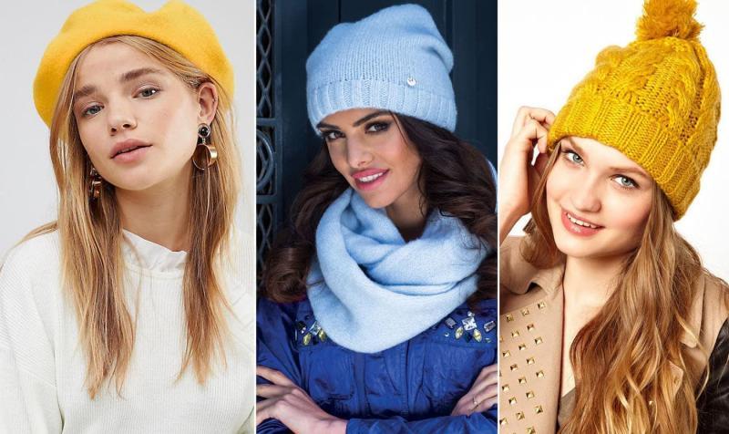 Модные цвета шапок осень-зима 2018-2019