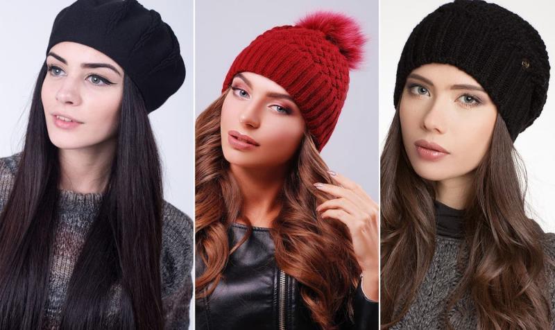 Модные цвета шапок осень-зима 2018-2019 2