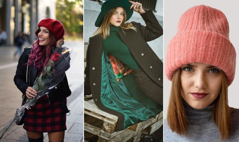 Модные цвета шапок осень-зима 2018-2019 3