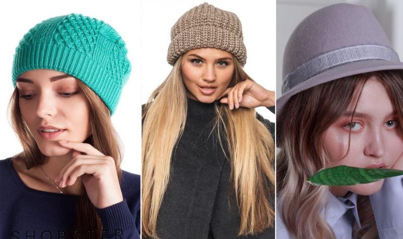 Модные цвета шапок осень-зима 2018-2019 4