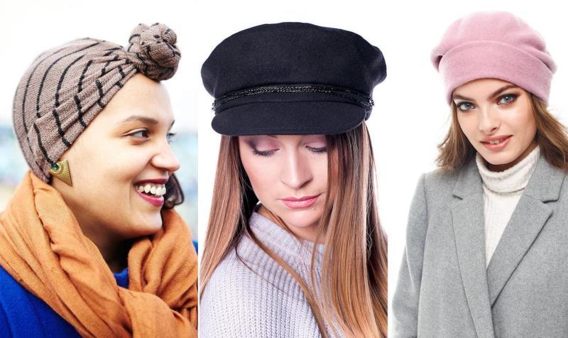 Модные шапки-береты осень-зима 2018-2019