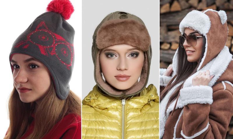 Модные шапки-шлемы осень-зима 2018-2019