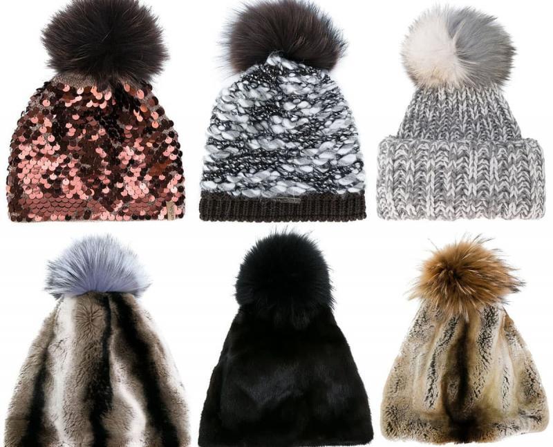 Модные шапки - тренды 104
