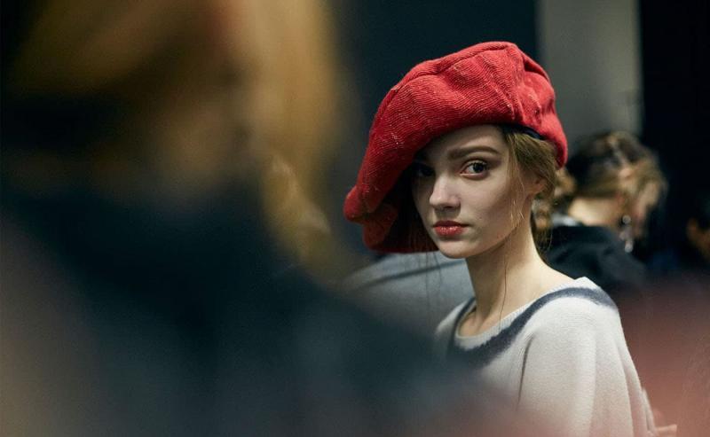 Модные шапки - тренды 105