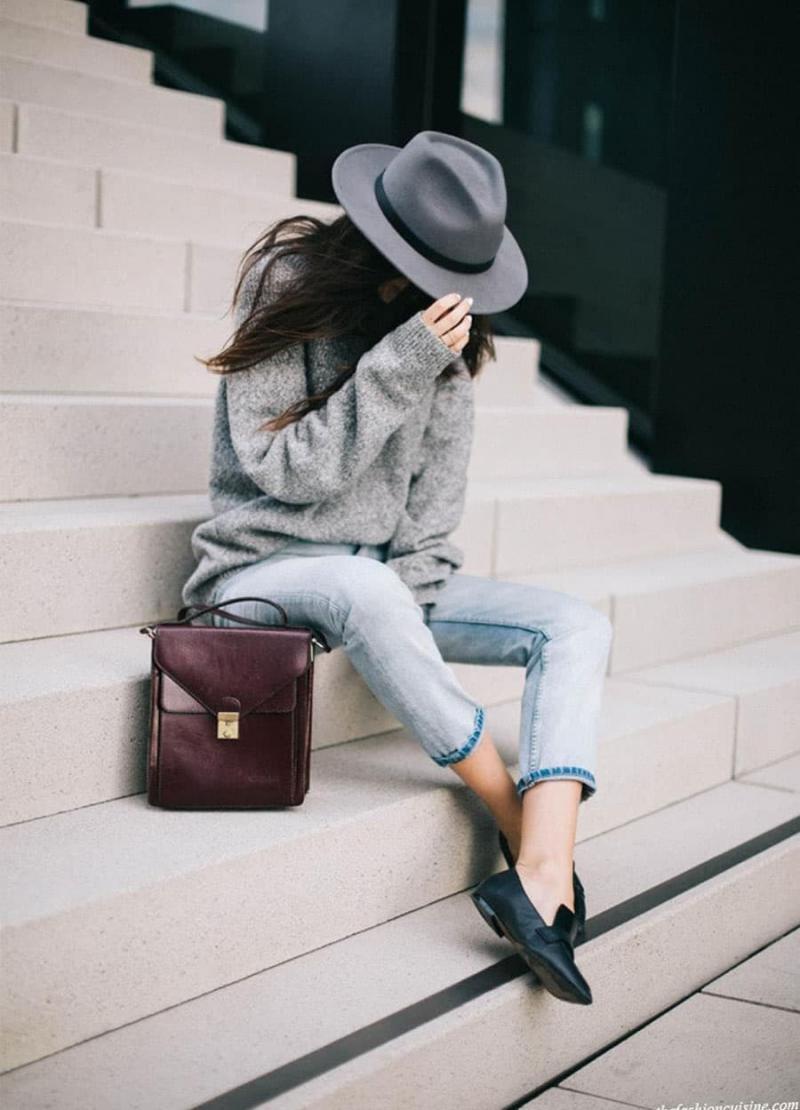 Модные шапки - тренды 106