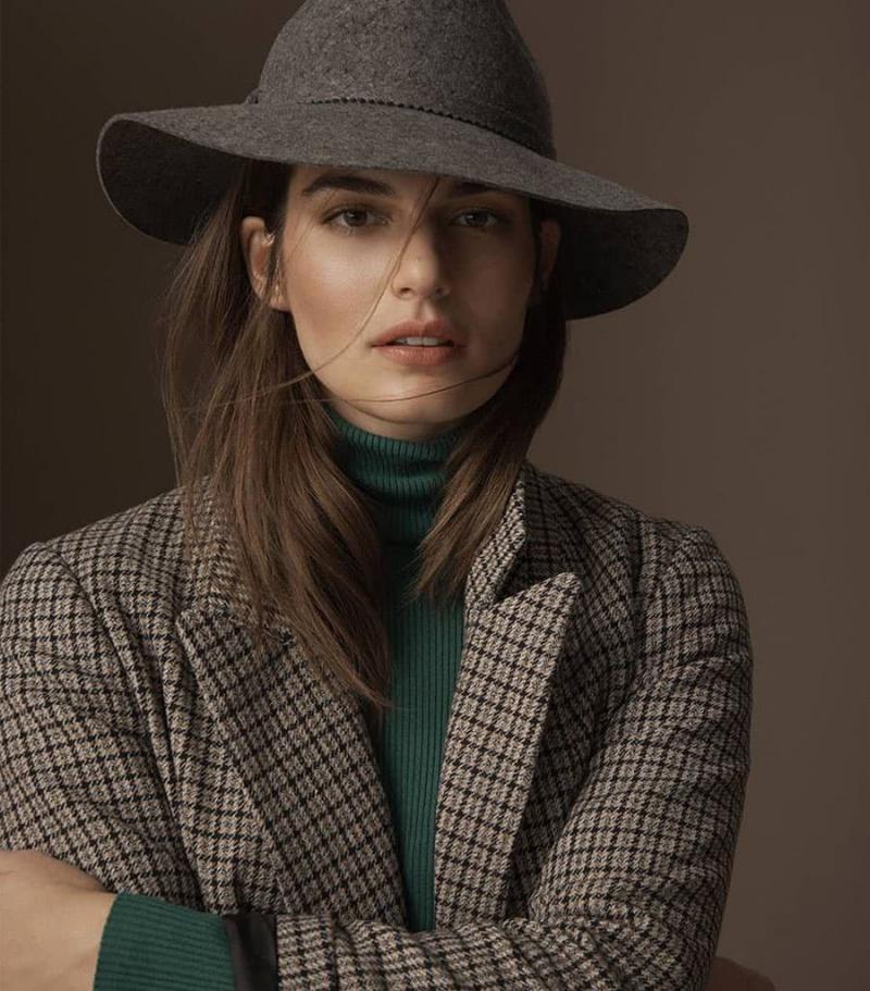 Серая шапка осень-зима - 23