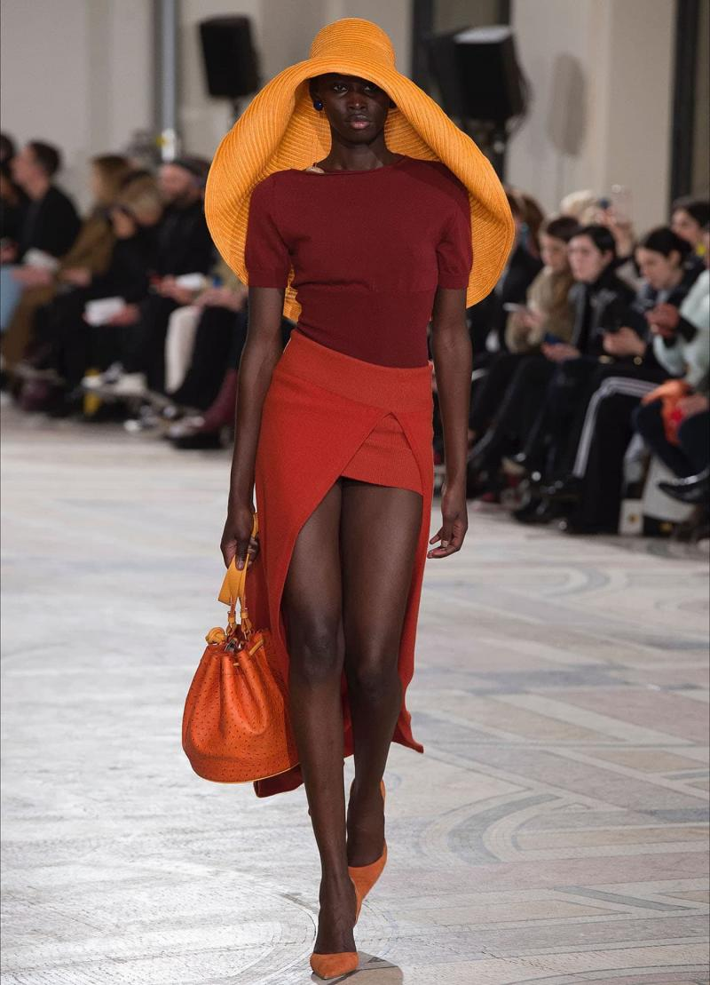 Оранжевая шапка - 24