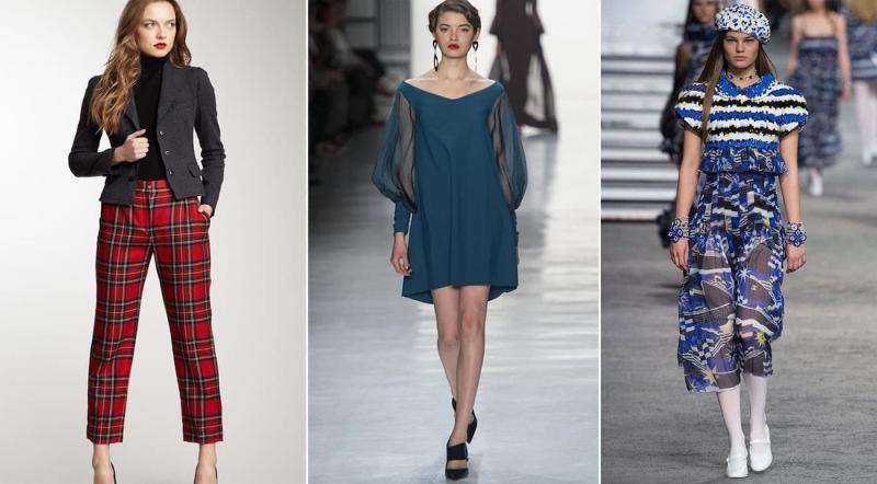 Мода 2019 - модные принты