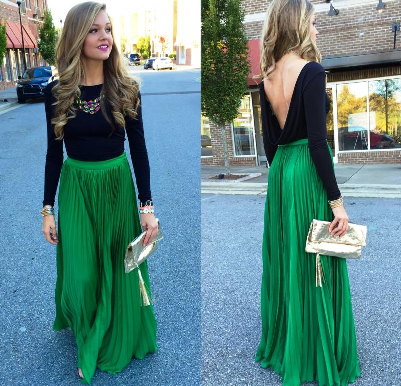 Длинная юбка - фото 5