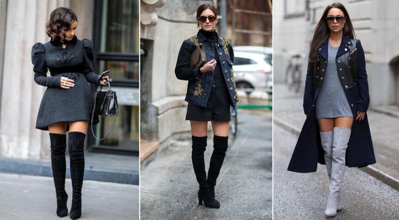Модные сапоги-ботфорты осень-зима 2021-2022