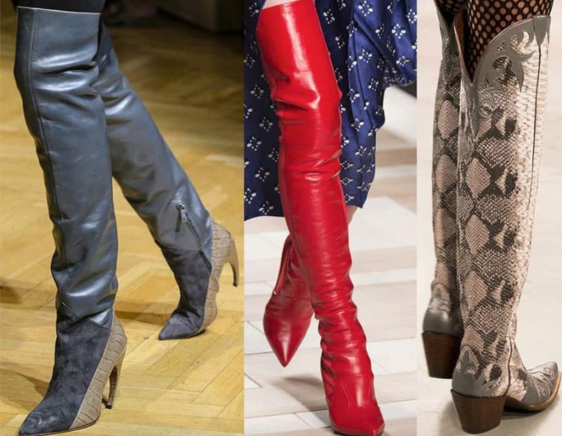 Модные сапоги 2019 - фото 1