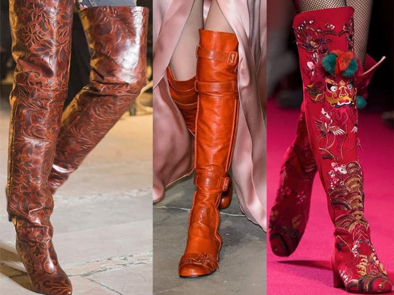 Модные сапоги 2022 - фото 2