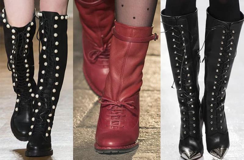 Модные сапоги 2022 - фото 7