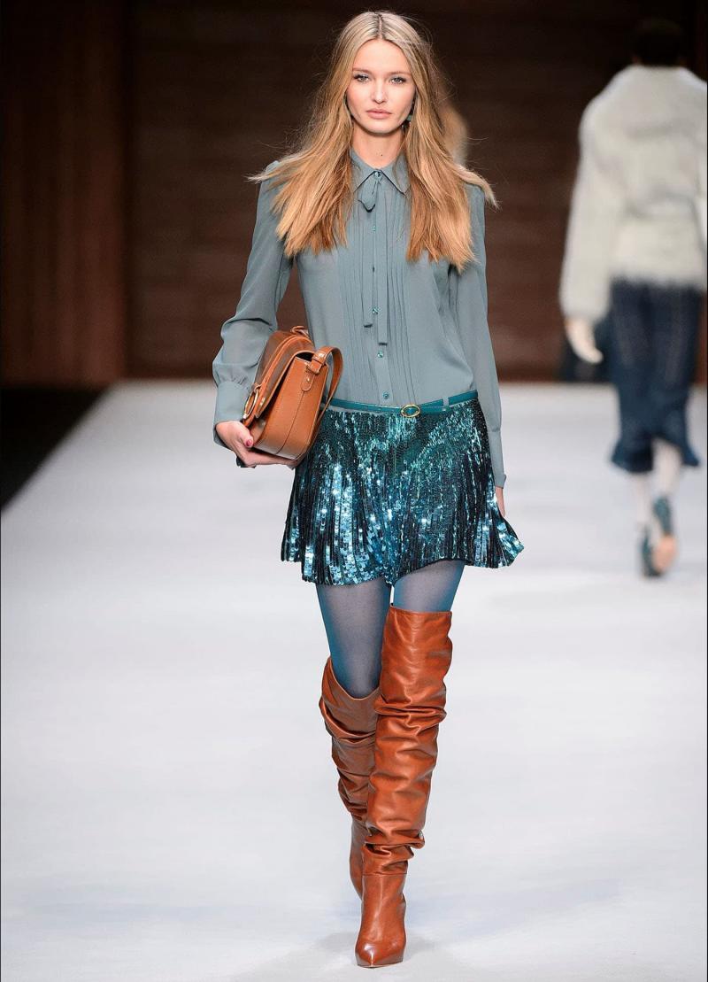 Модные женские сапоги - фото 15