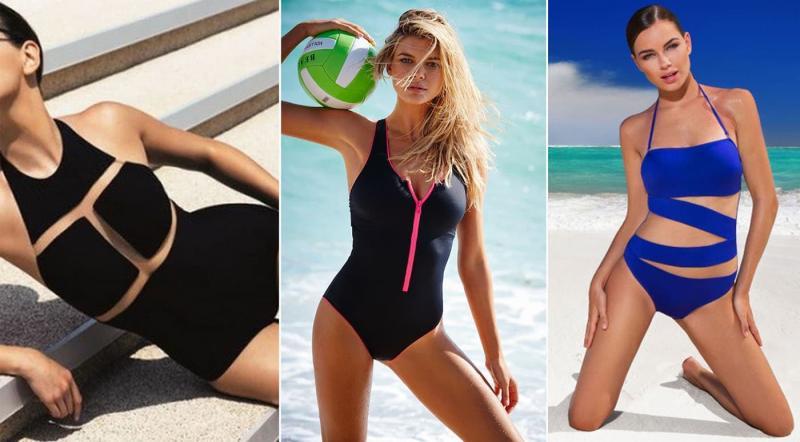 Модные цельные купальники 2019
