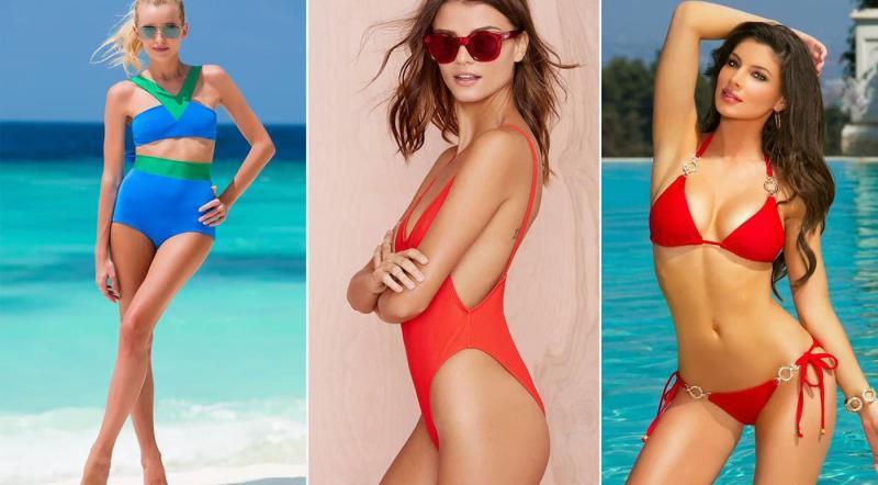 Модные яркие купальники 2019