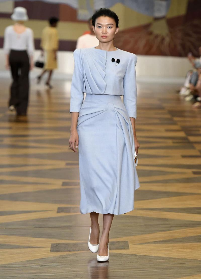 Модные длинные юбки 10