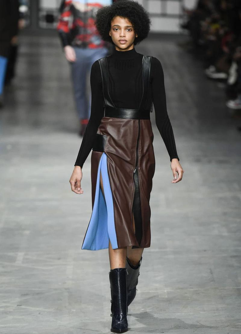 Модные длинные юбки 16