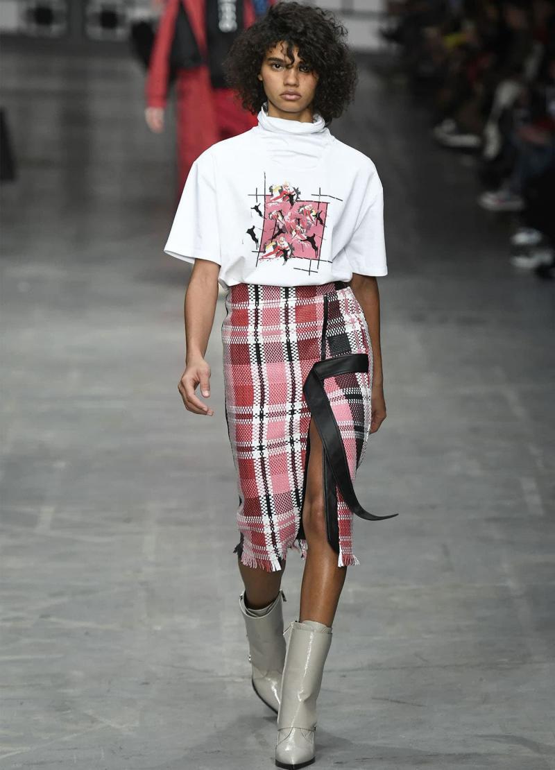 Модные длинные юбки 18