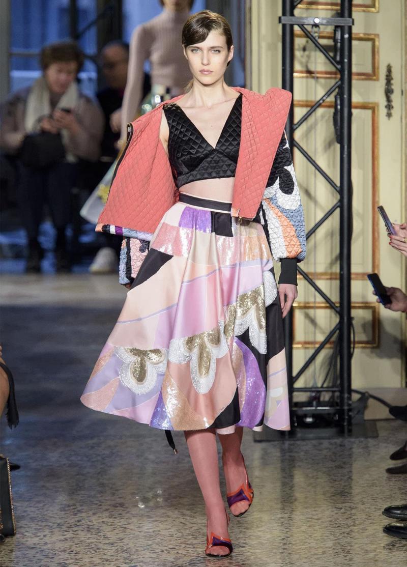 Модные длинные юбки 5