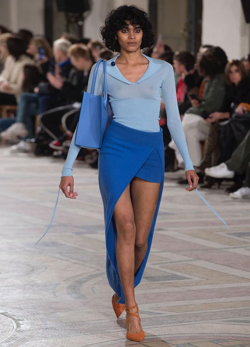 Модные длинные юбки 8