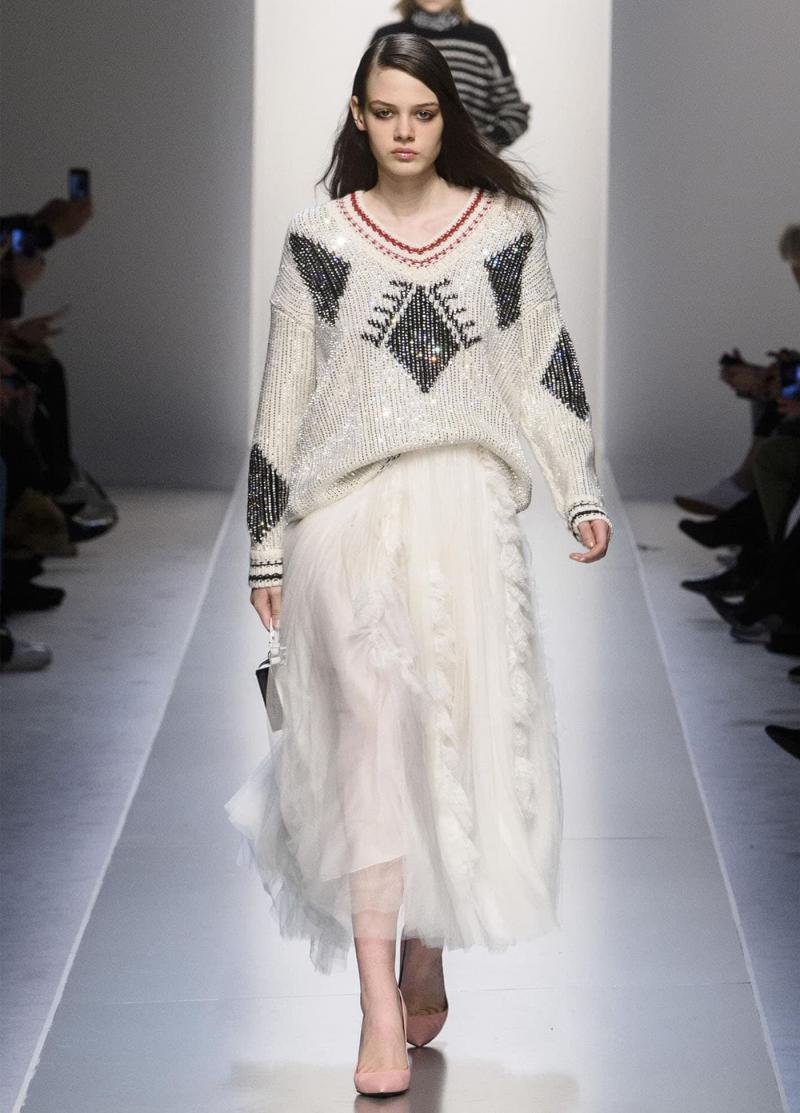 Модные длинные юбки 9