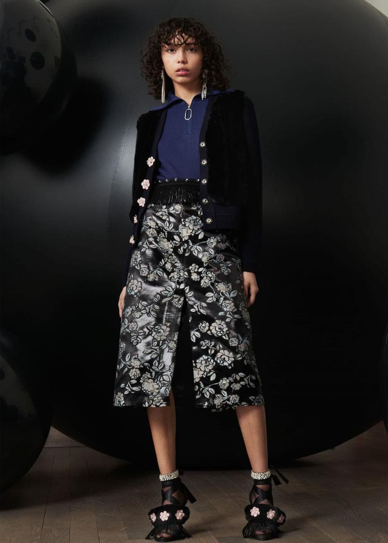 Модные юбки осень-зима 2018-2019 - фото 12