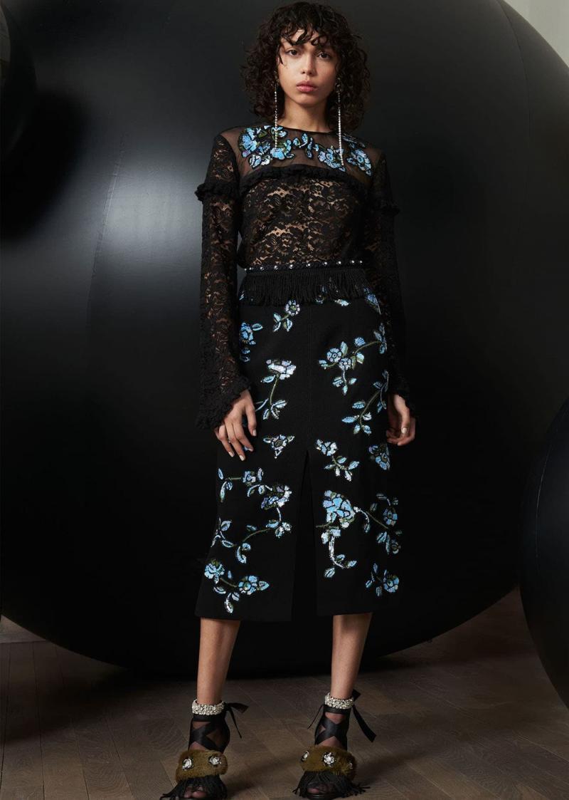 Модные юбки осень-зима 2018-2019 - фото 13
