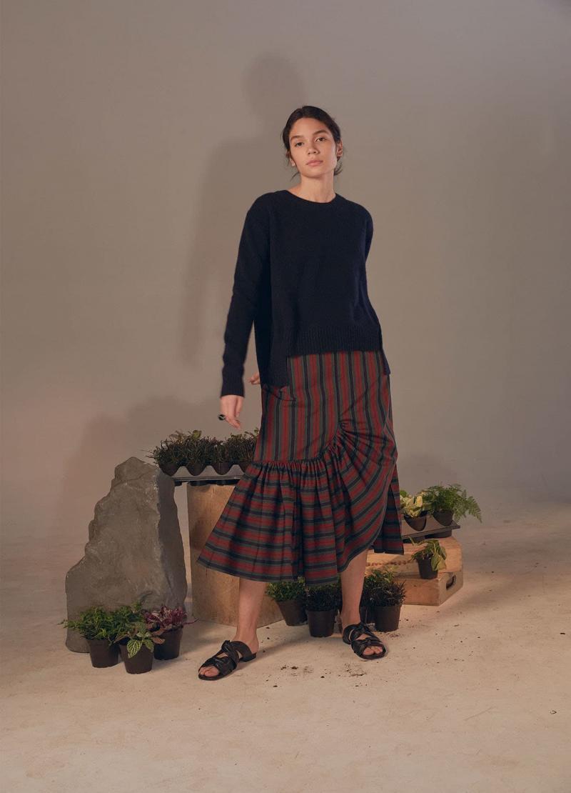 Модные юбки осень-зима 2018-2019 - фото 15
