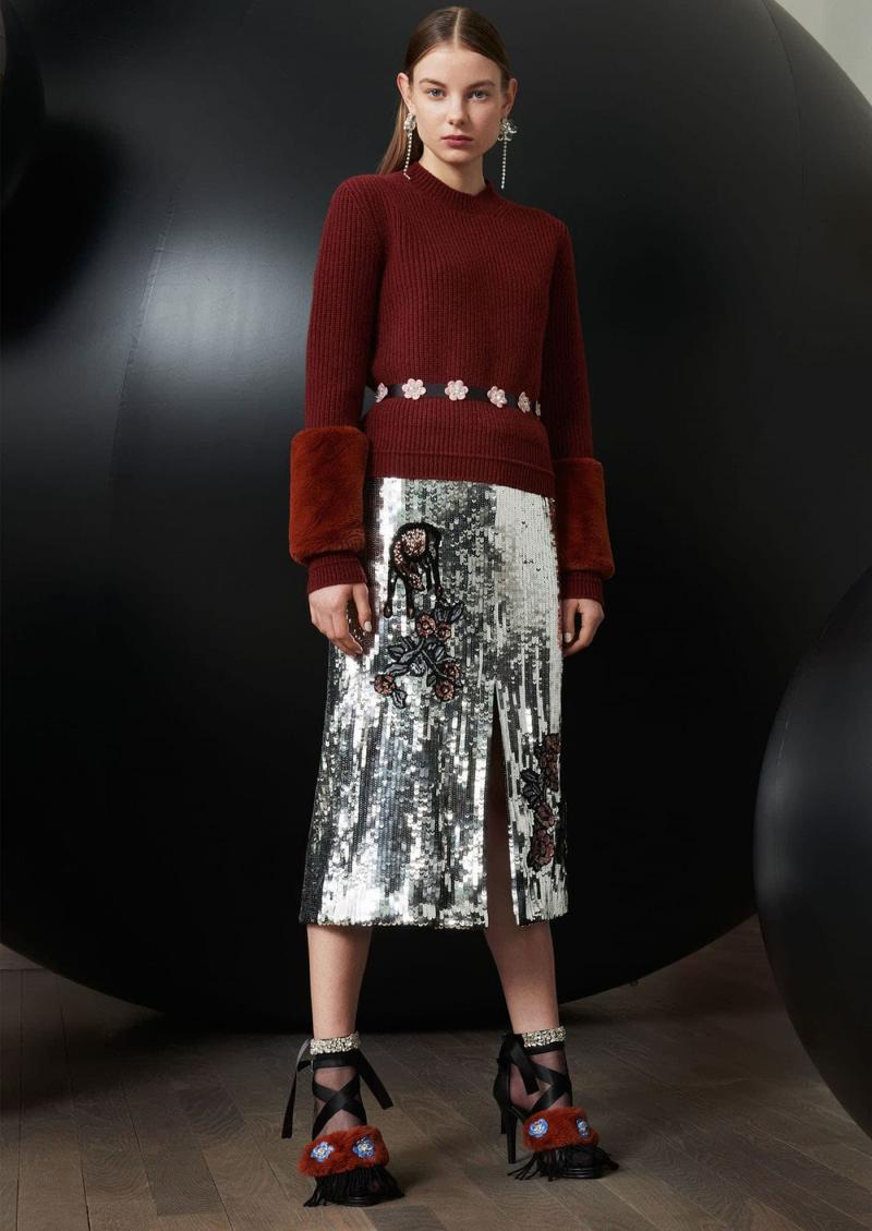 Модные юбки осень-зима 2018-2019 - фото 9