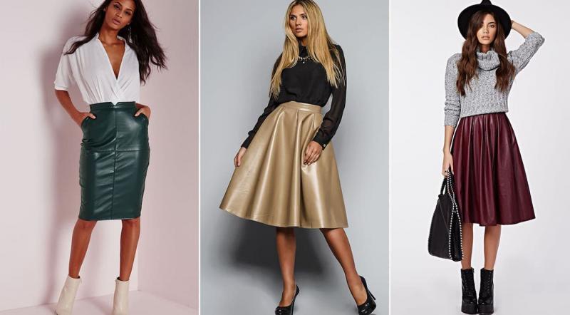 Модные юбки в клетку осень-зима 2018-2019