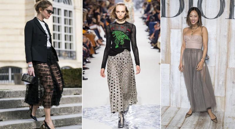 Юбки Christian Dior 2018-2019