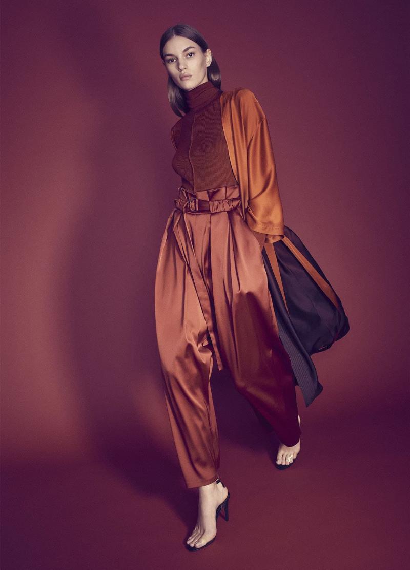 Модные цвета одежды осень-зима 14