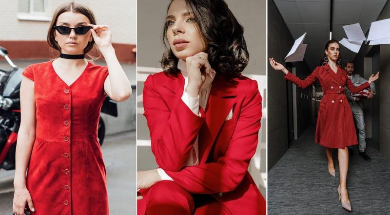 Модные цвета одежды осень-зима 2018-2019 - Доблесный мак