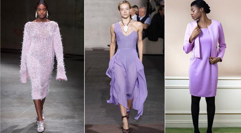 Модные цвета одежды осень-зима 2018-2019 - Лепесток крокуса