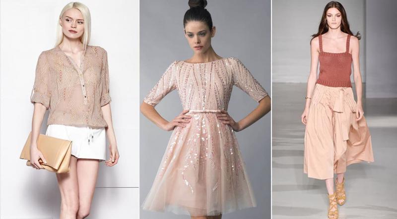 Модные цвета одежды осень-зима 2018-2019 - Миндальный
