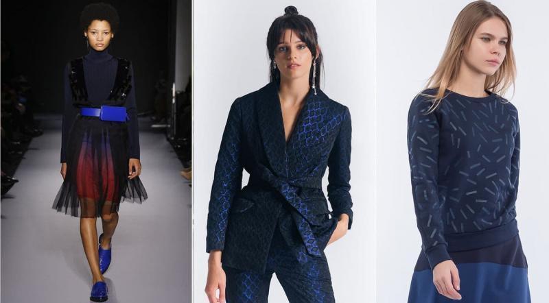 Модные цвета одежды осень-зима 2018-2019 - Саргассово море
