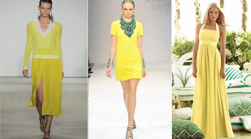 Модные цвета одежды осень-зима 2018-2019 - Свет рампы