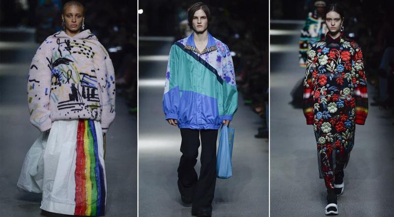 Мода осень-зима 2021-2022- Burberry