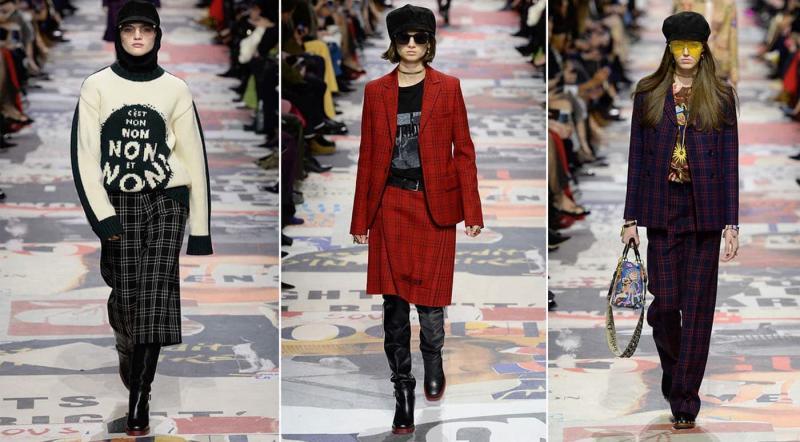 Мода осень-зима 2021-2022- Dior