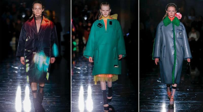 Мода осень-зима 2021-2022- Prada