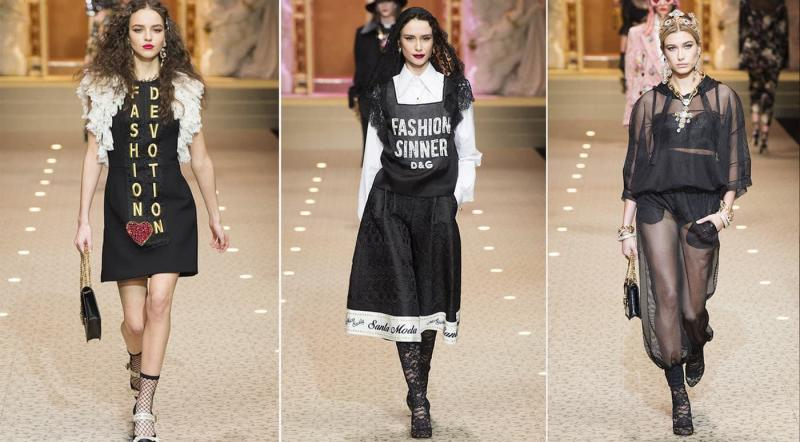 Коллекция 2018 - Dolce & Gabbana
