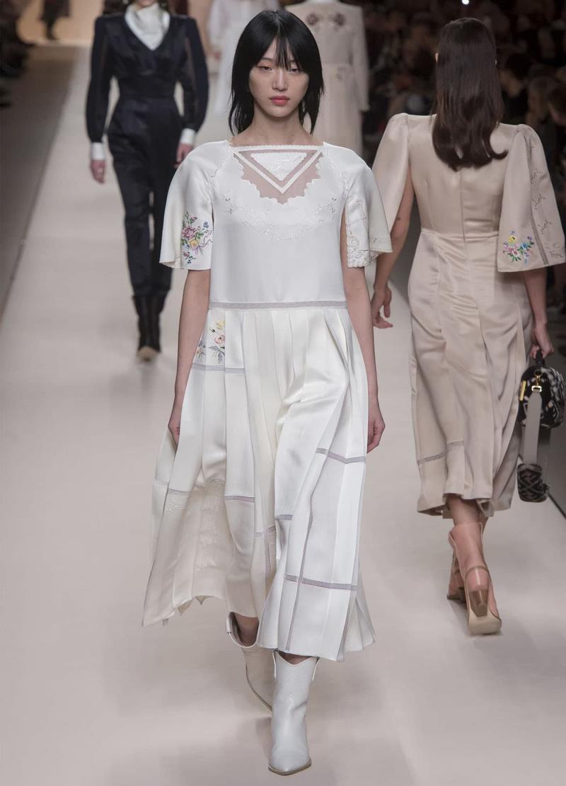 Мода 2018 года - фото в женской одежде 6